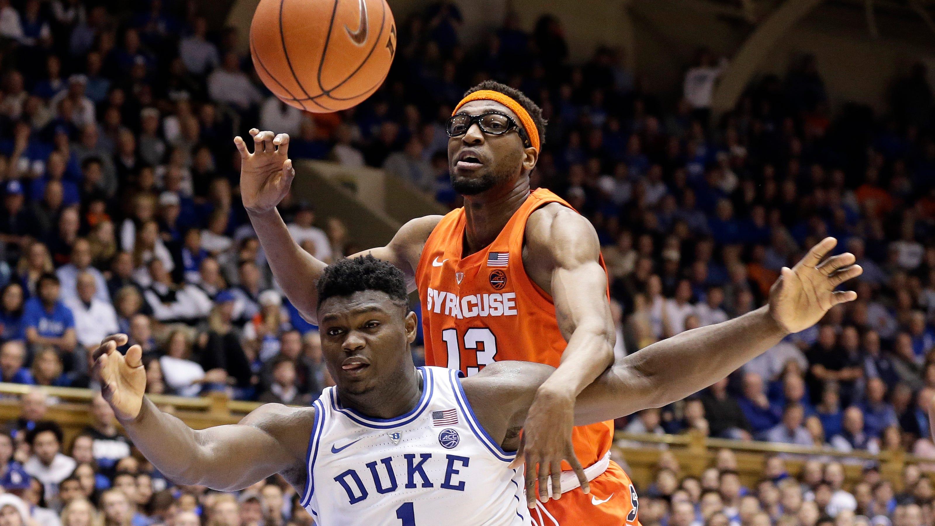 Syracuse Upsets No 1 Duke 95 91 In Ot After Jones Injury