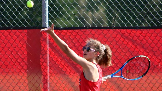 Lexy Nelson is a returning senior for the Cardinals this fall and will start the season at first doubles.
