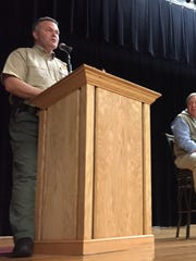Sheriff Rick Clark and several other county leaders will be on hand for Tuesday night's town hall meeting in Liberty.
