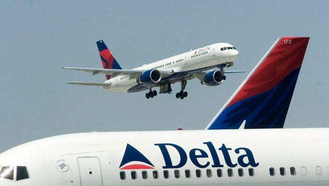 Delta Airlines has filed an application to offer flights from Lansing to Washington, D.C.