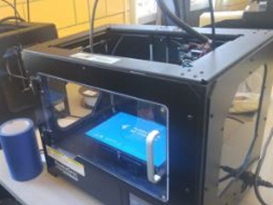 E.H. Greene's Makerspace has three 3D printers for