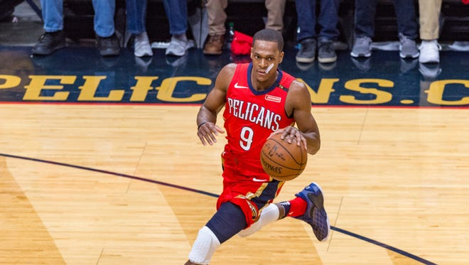 4. Rajon Rondo / Unrestricted / Point Guard / 6-1 / Team: New Orleans Pelicans / 8.3 ppg, 8.2 apg