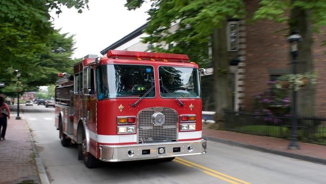 A fire displaced a West End family of 10 Friday night, but no one was injured.