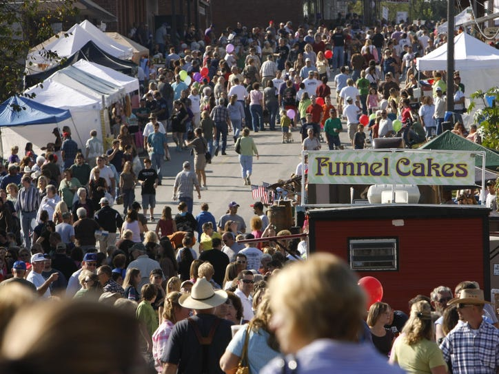 Organizers suggest arriving early to the Fair Grove