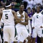 Michigan State vs. Northwestern men's basketball