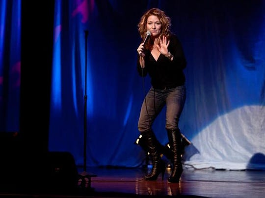 Comedian Sarah Colonna likes to tour in cities where