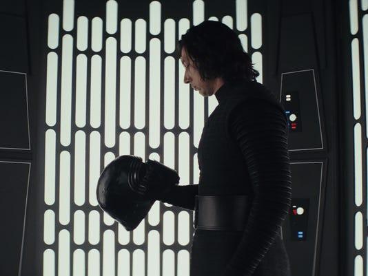 Kylo Last Jedi