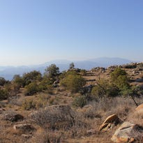 The heat on the lower portions of the Skyline Trail can reach above 100 degrees in the summer.