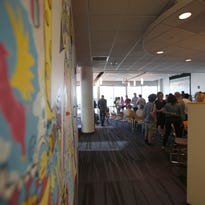A view of the offices of POSSIBLE, a marketing and branding agency that works with P&G. Cincinnati has a thriving design community, advocates say.