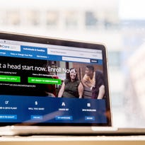 The HealthCare.gov website, where people can buy health insurance, is displayed on a laptop screen in Washington. Expect insurers to seek significant premium increases under President Barack Obama's health care law, in a wave of state-level requests rippling across the country ahead of the political conventions this summer.