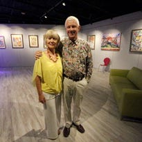 "John ""Buddy"" Winston and Pat Olchefski-Winston own Star City Studio Productions,120 W. Castellano. The new recording studio and art gallery also has a space for live performances."