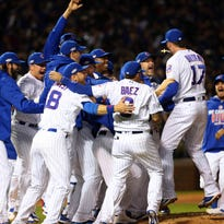 Cubs shut out Dodgers, advance to first World Series since 1945
