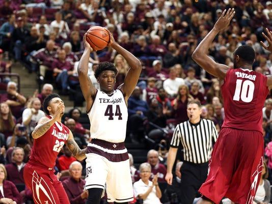 NCAA Basketball: Alabama at Texas A&M