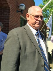 Sen. Norm. McAllister, R-Franklin, leaves Vermont Superior Court in St. Albans on Thursday, June 16, 2016, after sexual assault charges against him were dismissed.