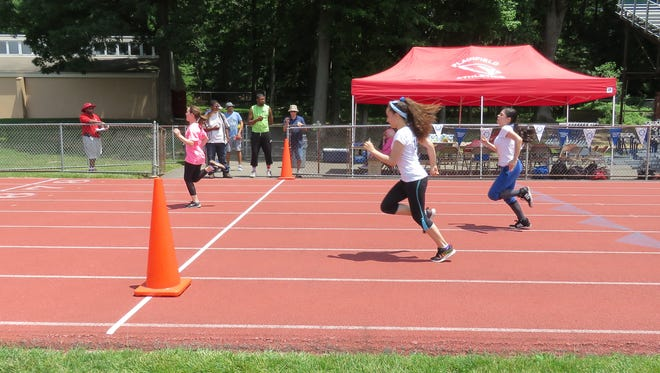 The 55 meter sprint.