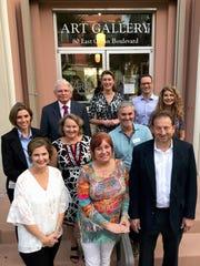 Board members (front) Gaby Ferraro, Terri Pettengill,