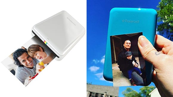 This printer gives you the perfect, stick-able photos right from your phone—no ink and no wires!