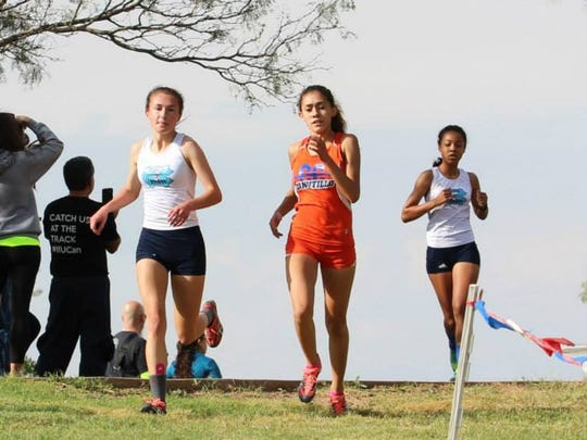 Anisa Burciaga, a junior at Canutillo, is looking to return to the UIL State Cross Country Championship.