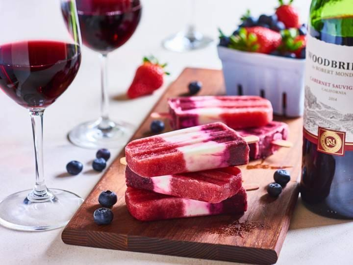 Be the party MVP with this cabernet popsicles recipe