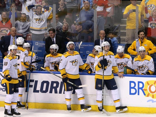 NHL: Nashville Predators at Florida Panthers