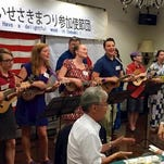 The singing and ukelele group, DUkes, will play the Japanese Fall Festival in Springfield on Sept. 12-13.