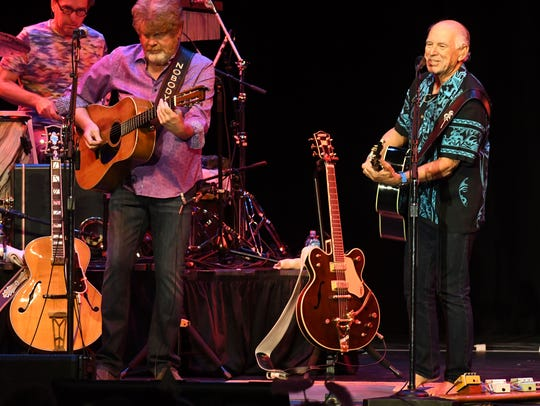 Jimmy Buffett and the Coral Reefers perform at the