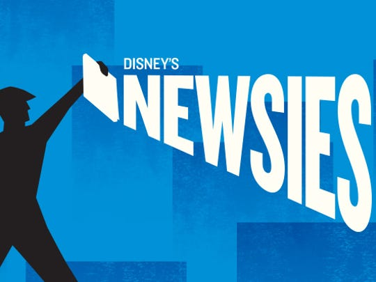 """Newsies The Musical"" will have several showings from Friday-Sunday at the Murphey Performance Hall, 72 W. College Ave."