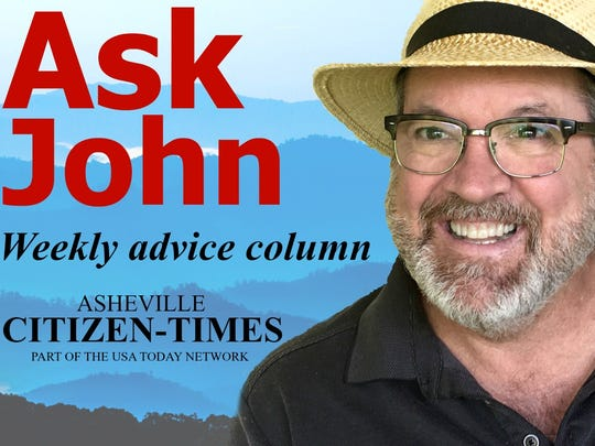 Ask John is a weekly advice column in Asheville Scene, published by the Citizen-Times.