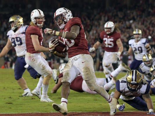 NCAA Football: Washington at Stanford