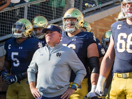NCAA Football: Miami (Ohio) at Notre Dame