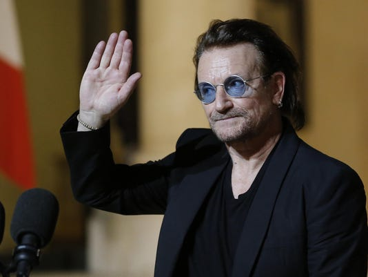 Bono AIDS Auction