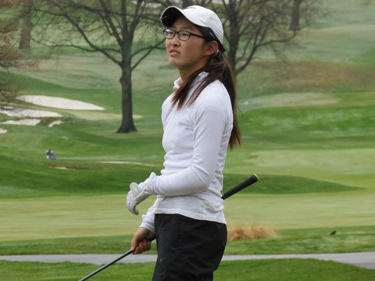 Gio Kim of Northern Highlands has been North Jersey's best girls freshman golfer.