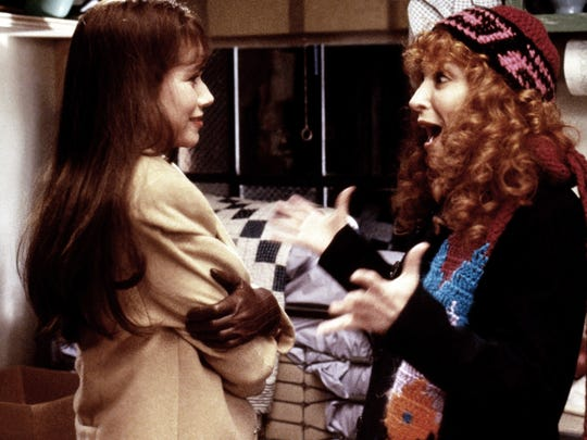 Barbara Hershey is Hillary Whitney and Bette Midler is CC Bloom in 1988's 'Beaches.'