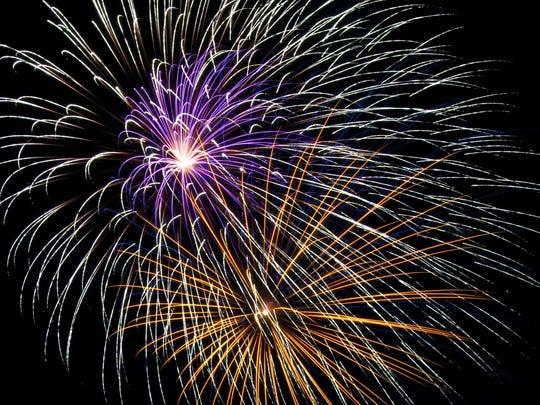 The Downtown Henderson Project's Fourth of July celebration at the riverfront with fireworks sponsored by Independence Bank.