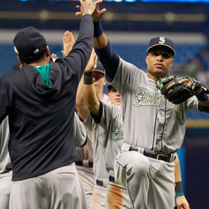 May 25, 2015; St. Petersburg, FL, USA; Seattle Mariners