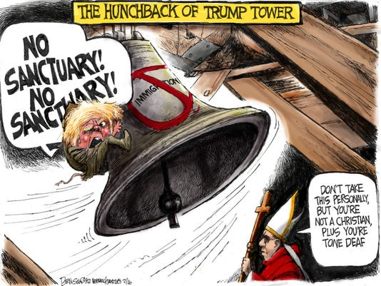 The Hunchback of Trump Tower