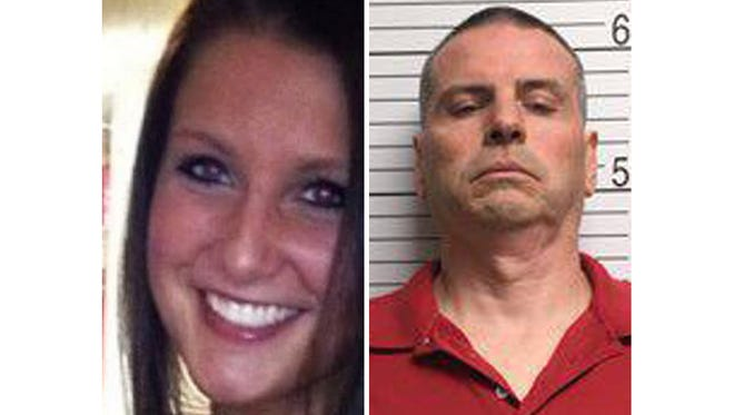 Daniel Messel (right) was convicted in the murder of IU student  Hannah Wilson of Fishers.