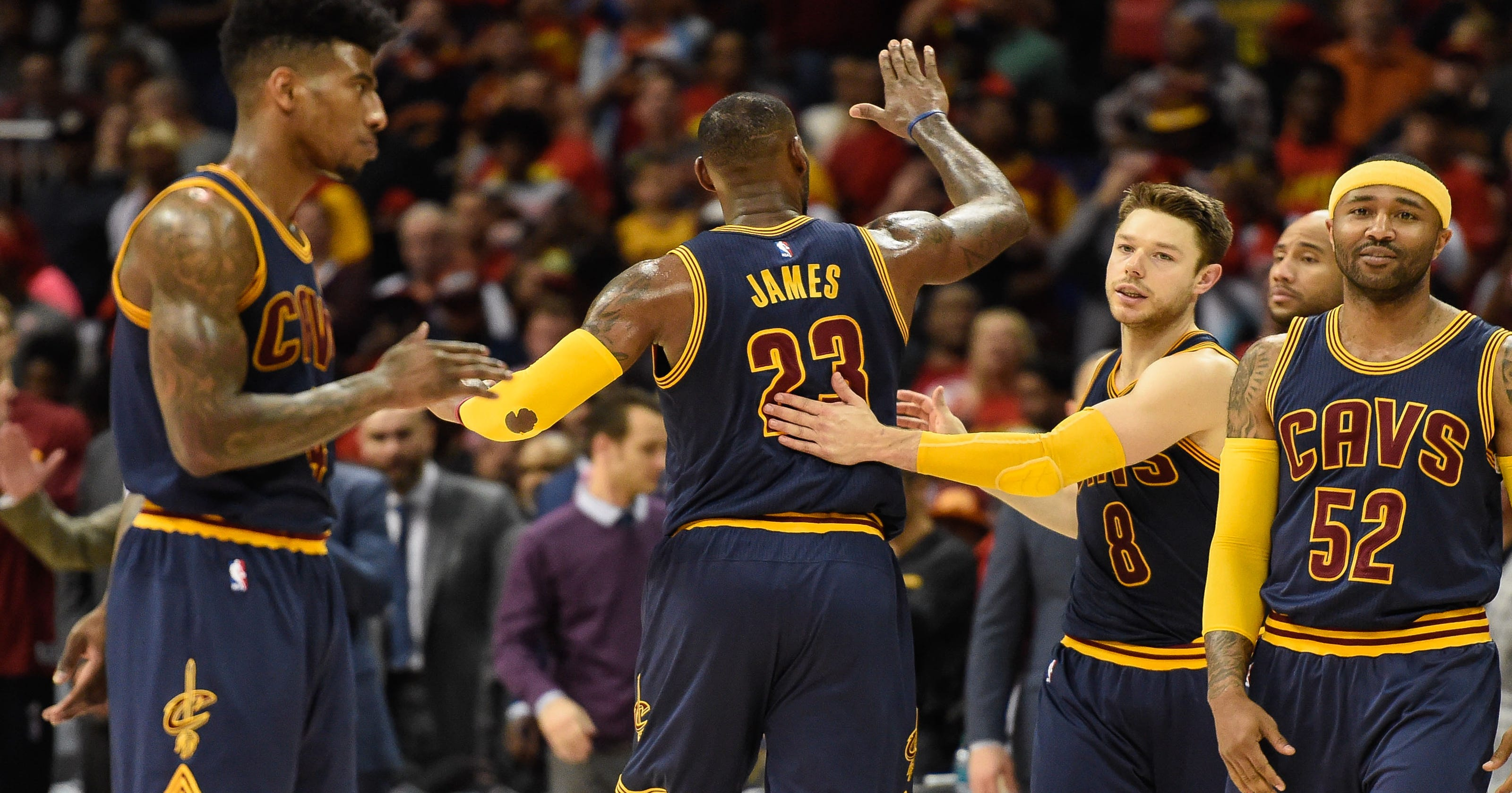 bf8508ac5 Cavs  reserves more than holding their own alongside LeBron James