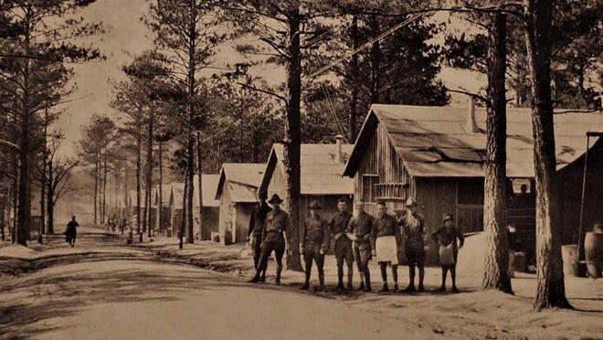 October 1918 saw flu outbreak at Camp Hancock near Augusta.