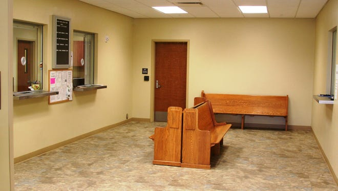 This area north of the Walker River Justice Court offices is space where WR Justice of the Peace is looking for expanded office space.