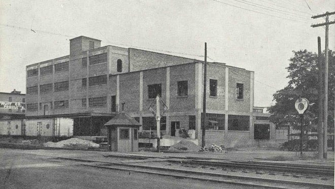 The Webster Cold Storage building on North Avenue is seen in this undated postcard.