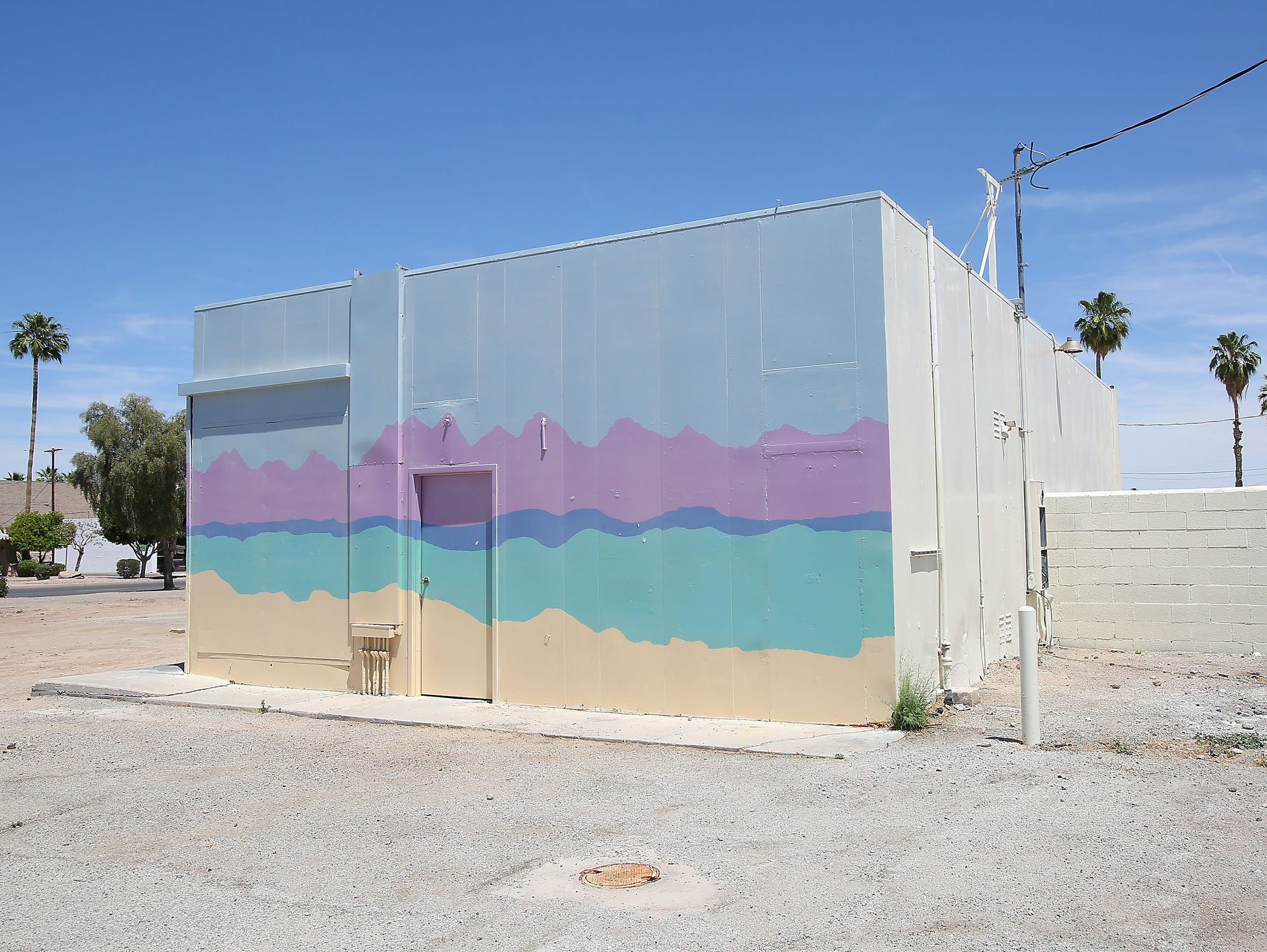 This Blythe building, formerly the Day and Nite Minimart,