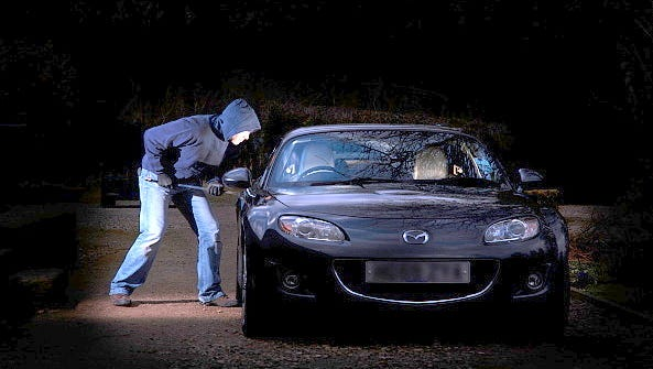 Summer is the busiest time for car break-ins.