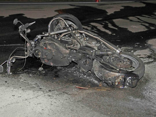 A motorcyclist is dead following a crash on May 8,