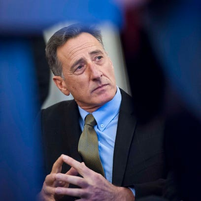 Gov. Peter Shumlin says he's working to bridge Vermont's
