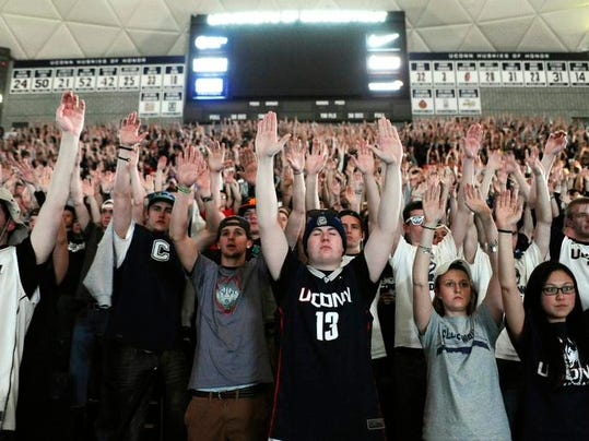 NCAA Championship UConn Campus Basketball