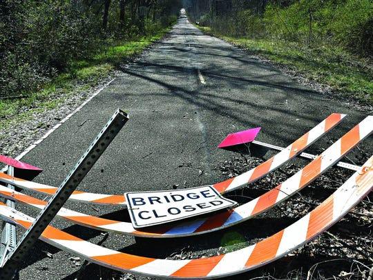 Gov. Phil Bryant has ordered 100 county bridges closed