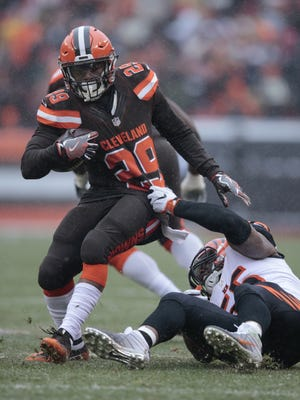 Cleveland Browns running back Duke Johnson is a player the Bengals have to keep an eye on in 2017.