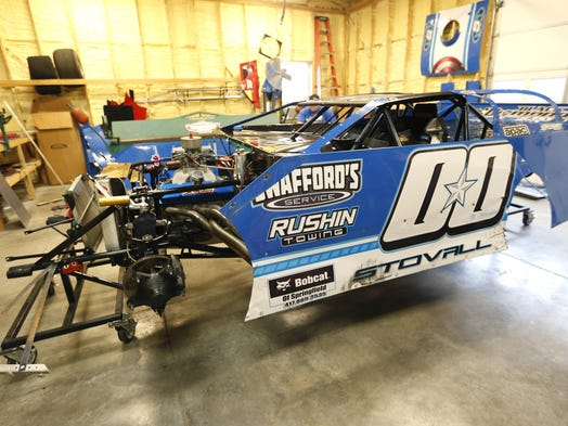 Local Racer Stovall Feeling Pressure As Show-Me 100 Nears