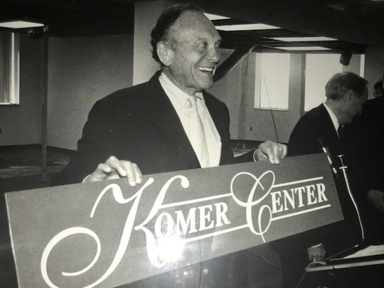 The former Gorton Coy building in downtown Elmira was renamed the Komer Center in honor of Elmira business leader Stuart Komer.